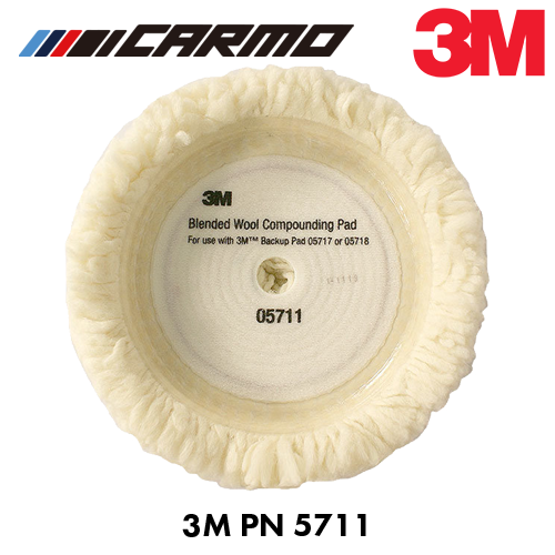 3M 단면 양털패드 PN5711/3M Polishing Pad
